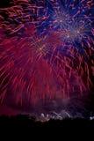 Lueur explosive Image libre de droits