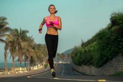 Läuferfrau Stockfotos