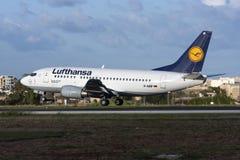 Lufhansa 737-500 Arkivfoto