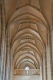 lufowy katedralny sufit Zdjęcie Royalty Free