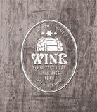 Lufowy wino ilustracji