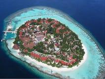 luftö maldives Arkivbilder