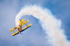 Luft acrobacy Stockbild