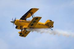 Luft acrobacy Lizenzfreies Stockbild