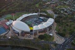 Luft-Adelaide-Oval Lizenzfreies Stockbild