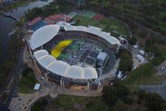 Luft-Adelaide-Oval Stockbilder