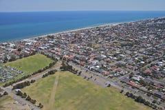 Luft-Adelaide-Stadt Lizenzfreies Stockfoto