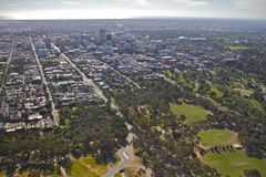 Luft-Adelaide-Stadt Stockfotos