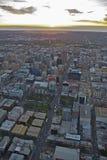 Luft-Adelaide-Stadt Lizenzfreie Stockfotografie