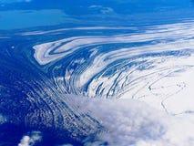 luft alaska Arkivfoto
