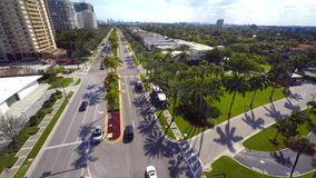 Luft-Bal Harbour 4k stock video footage
