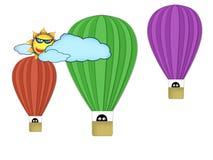 Luft-Ballone Stockbilder