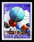 Luft-Ballone, 200 Jahre Luftfahrt serie, circa 1983 stockbild