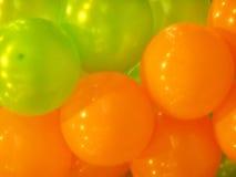 Luft-Ballonsdekoration stockbild