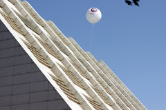 Luft Baloon am Blumen-Tag in Baku Azerbaijan Lizenzfreies Stockbild