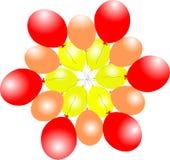 Luft baloons Stockfoto