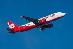 Luft Berlin Airbus A320 Lizenzfreies Stockbild