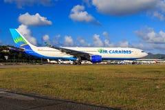 Luft Caraibes A330 Arkivbild