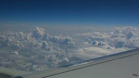 Luft-cloudscape stock footage