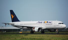 Luft ein Airbus 320 Stockfoto