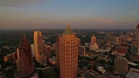 Luft-Georgia Atlanta stock video footage