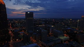 Luft-Georgia Atlanta stock footage