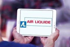 Luft Liquide-Firmenlogo Lizenzfreie Stockbilder