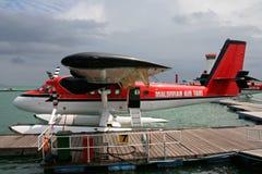 luft maldivian taxar Royaltyfri Bild