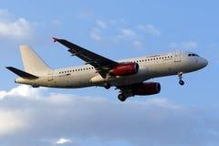 Luft Malta Airbus in der teilweisen Livree Lizenzfreie Stockfotografie