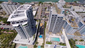 Luft-Monte Carlo Miami Beach stock footage
