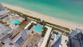 Luft-Monte Carlo Miami Beach stock video footage