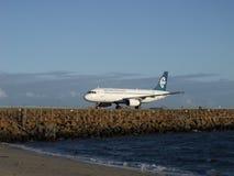 a320 luft New Zealand Arkivfoto