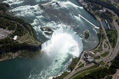 Luft-Niagara Falls Stockfotografie