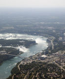 Luft-Niagara Falls Lizenzfreies Stockfoto