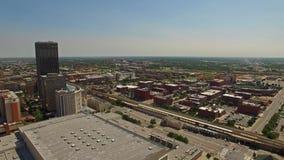 Luft-Oklahoma Oklahoma City stock video footage