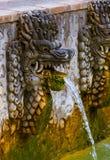 Luft Panas Banjar för varm vår - Bali ö Indonesien Royaltyfria Foton
