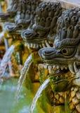Luft Panas Banjar för varm vår - Bali ö Indonesien Royaltyfri Bild