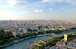 Luft-Paris-Ansicht Stockfotografie