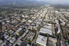 Luft-Pasadena Kalifornien stockbild