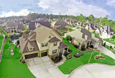 Luft-Real Estate-Fotografie Lizenzfreie Stockfotos
