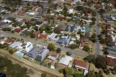 Luft- Süd-Australien Lizenzfreie Stockfotos