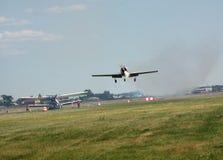 Luft-Show in Omsk Lizenzfreie Stockbilder