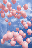 luft sväller flygred Royaltyfria Bilder