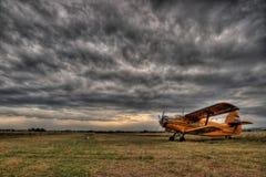 Luft - Traktor Stockfotografie
