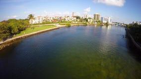 Luft- Video-Boca Raton FL stock video