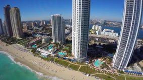 Luft- Video-Sunny Isles Beach FL stock footage