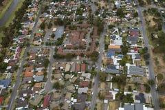 Luft- West- Vororte Süd-Australien Lizenzfreie Stockbilder