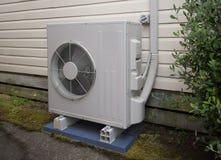 Lufta betinga och uppvärmningenheten för ett bostads- hus Royaltyfria Foton