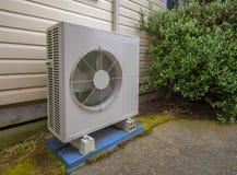 Lufta betinga och uppvärmningenheten för ett bostads- hus Arkivfoton