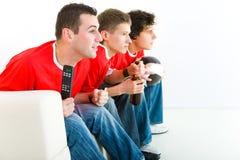 luftar fotboll Royaltyfri Foto